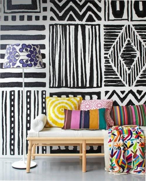 Confira decora es tnicas e afro para sua casa - Paredes pintadas originales ...