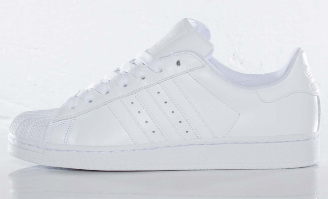 adidas Superstar Vulc ADV All White Shoes Zumiez